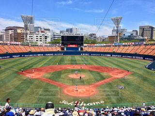 横浜スタジアムで高校野球の写真・画像素材[1751166]