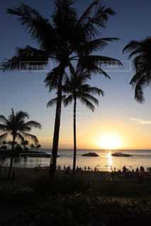 ハワイのサンセットの写真・画像素材[1786010]
