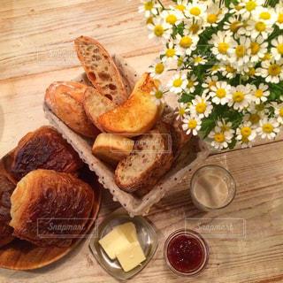 朝ごパンの写真・画像素材[1753101]