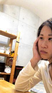 selfie オンナの写真・画像素材[1787422]