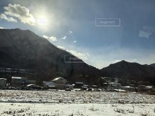 車から見えた景色の写真・画像素材[1753951]