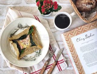 ガレットな朝食の写真・画像素材[1805623]