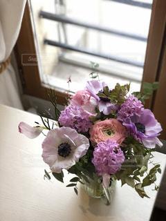 パリの花束の写真・画像素材[1805636]