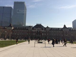 東京駅前広場の写真・画像素材[1753927]