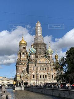 サンクトペテルブルク・血の上の教会の写真・画像素材[2932576]