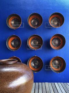 オリエンタルな壁面の写真・画像素材[1758019]
