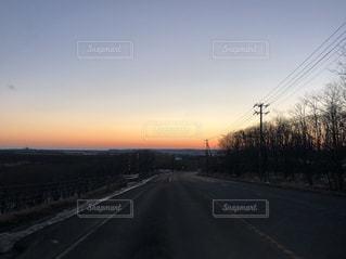 釧路の夕焼けの写真・画像素材[1755606]