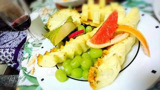 おうちシェフのフルーツアレンジカット&フルーツ盛り合わせ✨パーティースタイル✨@dole_jpの写真・画像素材[1819890]