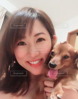 愛犬と一緒に♡の写真・画像素材[2097699]
