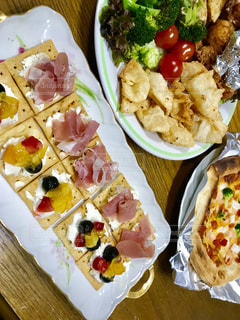 パーティ仕様な食事の写真・画像素材[1760393]