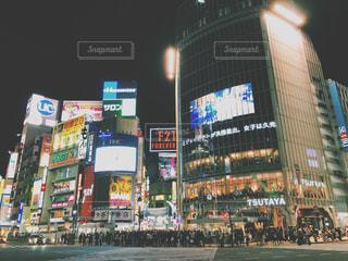 渋谷スクランブル交差点の写真・画像素材[1759225]