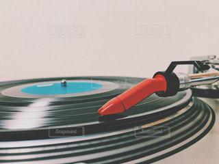 レコード&ターンテーブルの写真・画像素材[2332030]
