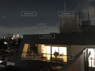 大都会のペントハウスの写真・画像素材[2639492]