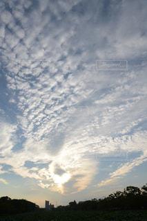 ハート形の雲の写真・画像素材[1761232]