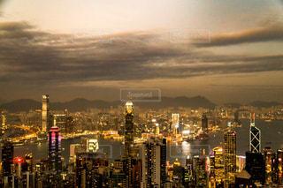 香港の夜景の写真・画像素材[2324687]