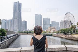 横浜を望むの写真・画像素材[2324829]