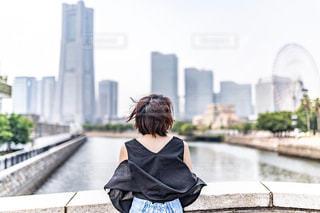 横浜を望むの写真・画像素材[2324834]