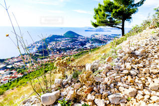 クロアチアの山中の写真・画像素材[2333607]
