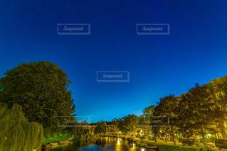 オランダの運河の写真・画像素材[2357699]