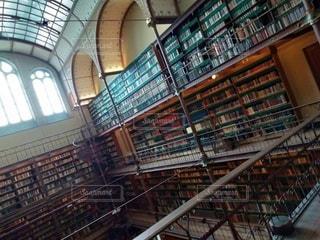 図書館の写真・画像素材[2360118]