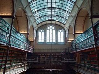 図書館の写真・画像素材[2360125]