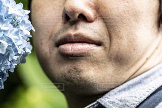 男のクローズアップの写真・画像素材[2419736]