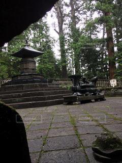 徳川家康公埋葬墓地の写真・画像素材[1760347]