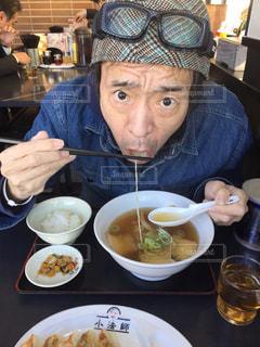 喜多方ラーメン食べた〜〜^_^の写真・画像素材[1773086]