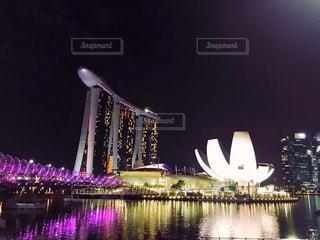 シンガポールの夜景の写真・画像素材[1762756]