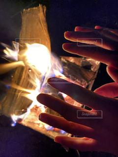 焚き火の写真・画像素材[2787778]