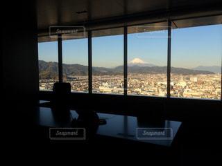 高層階からの富士山の写真・画像素材[1762354]