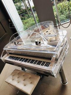 ピアノのクローズアップの写真・画像素材[2497563]