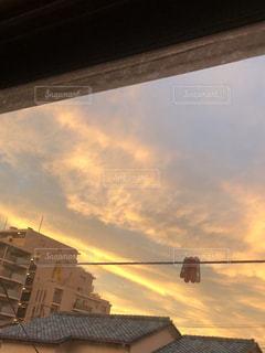 夕暮れの空です。の写真・画像素材[1763807]