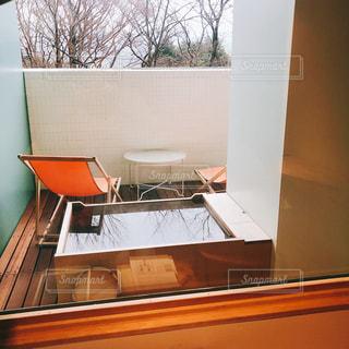 箱根本箱 客室露天風呂の写真・画像素材[1764402]