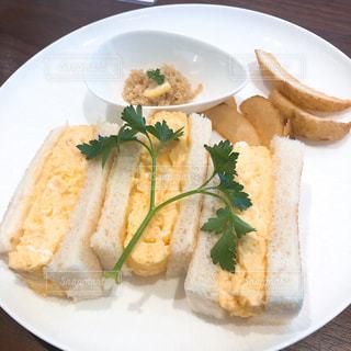 たまごサンドイッチの写真・画像素材[1764466]