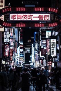 歌舞伎町の写真・画像素材[1765392]