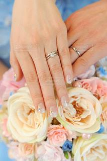 結婚指輪の写真・画像素材[1784593]