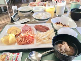 朝食ビュッフェの写真・画像素材[1783742]