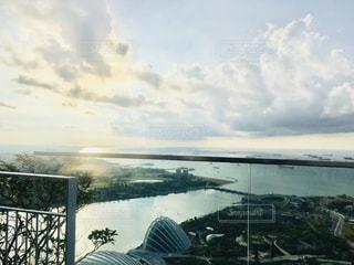 マリーナベイサンズ屋上からの景色の写真・画像素材[1783806]