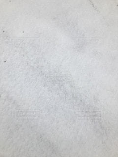 新雪が積もった路面。の写真・画像素材[1771968]