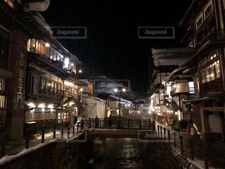 夜の街の写真・画像素材[1765491]