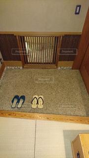 旅館 部屋の入口の写真・画像素材[1770869]