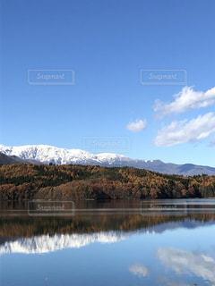 青木湖の写真・画像素材[2767423]