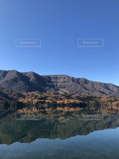 青木湖の写真・画像素材[2767429]