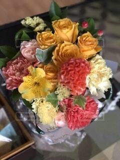花のクローズアップの写真・画像素材[4820841]