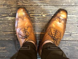 大好きな靴を磨いてみたの写真・画像素材[3305743]
