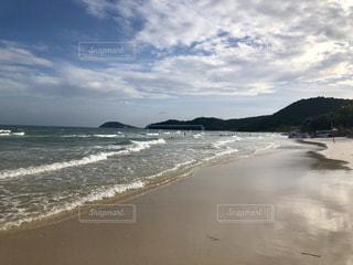 砂浜のビーチの写真・画像素材[1767125]