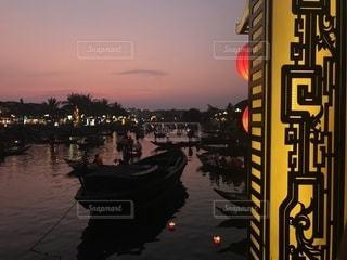 ベトナムホイアンの夕暮れの写真・画像素材[1769034]