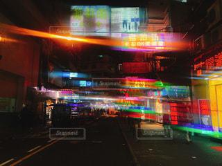 夜の街の写真・画像素材[1785337]