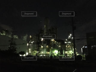 工場夜景の写真・画像素材[1770600]